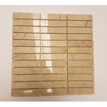 Crema Nova Polished Marble Mosaic