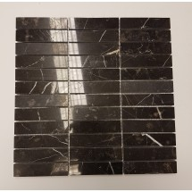 Black Polished Marble Mosaic
