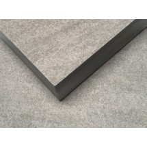Bishop Grey Matt Porcelain Tile 20mm