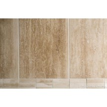 Ivory Vein-Cut Filled & Polished Travertine
