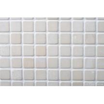 Sahara Tumbled Limestone Mosaic 23 x 23