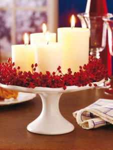 Cake Stand Candle Holder.