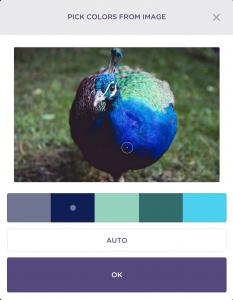 Peacock Green Colour Scheme