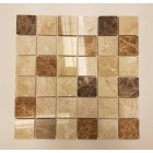Mixed Polished Marble Mosaic