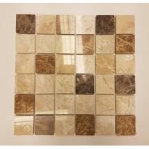 Mixed Polished Marble Mosaic