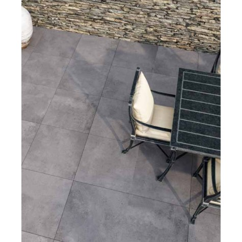 Bishop Grey Outdoor Matt Porcelain Tile 1200 x 600 x 20mm
