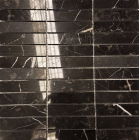 Ebony Polished Marble Mosaic