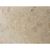 Hamlet tumbled and brushed limestone