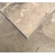 Roman Taupe Polished Porcelain 600 x 600