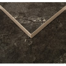 Crown Nero Polished Porcelain Tile