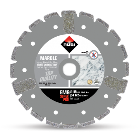 RUBI™ Electroplated Diamond Blade EMG 115mm