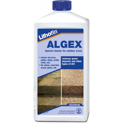 Lithofin ALGEX Algae & Moss Remover 1 Litre